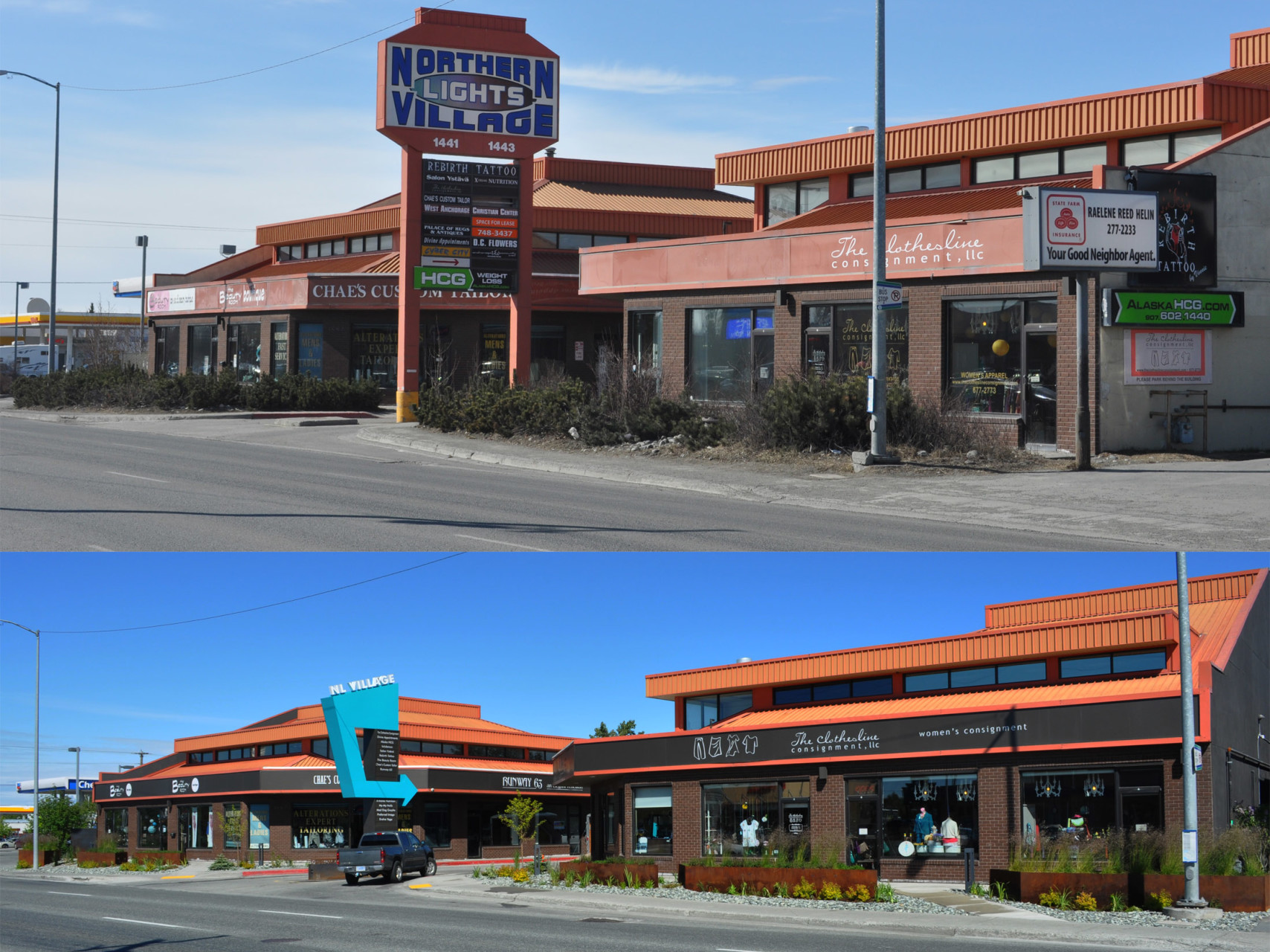 NLV Frontage