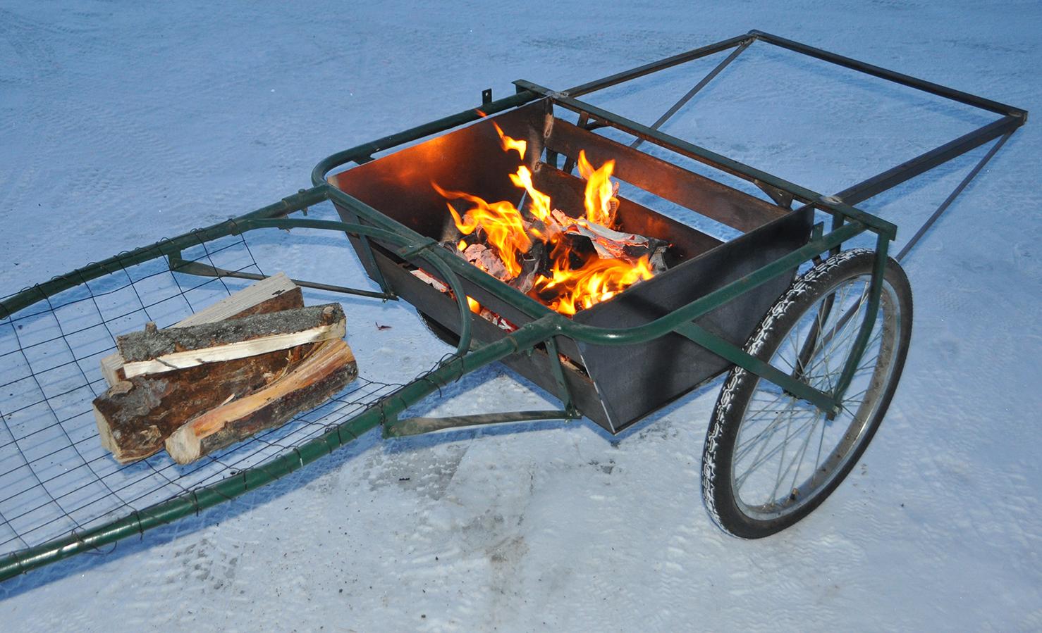 trailer fire small