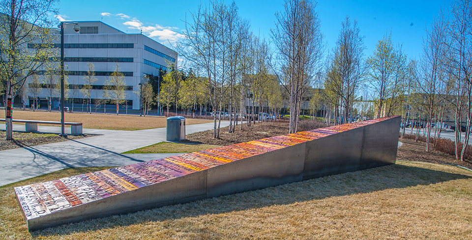 Centennial Bench Project : Anchorage Museum